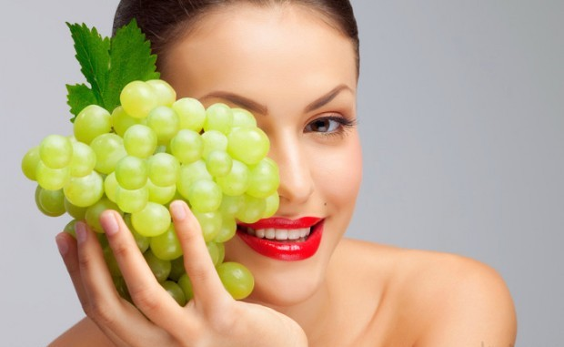 Image result for grape for skin