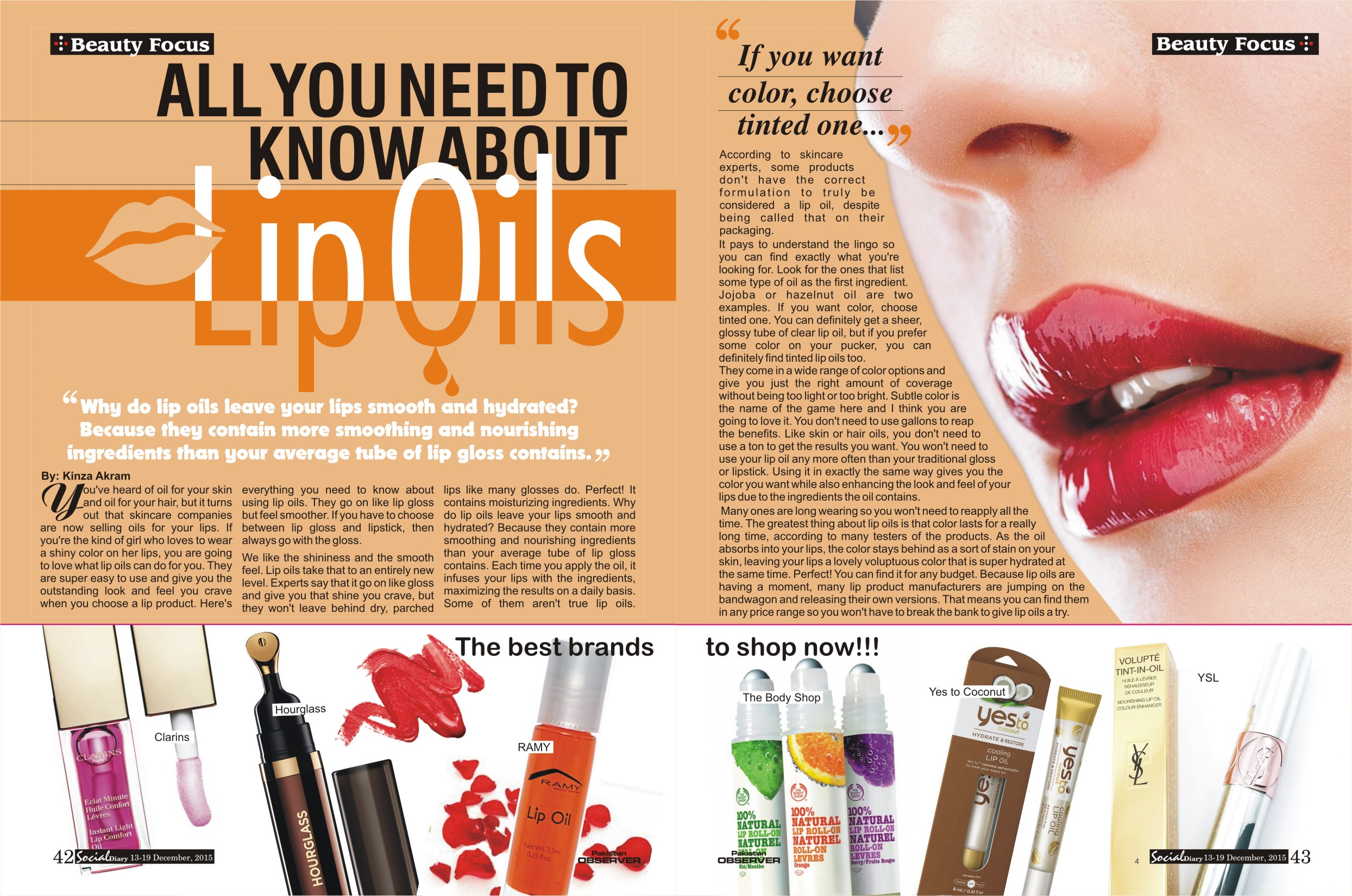 What you need to know when choosing lip gloss