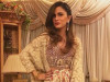 Natasia on point in a Shehla Chatoor formal from the latest 'All the Raj' collection.