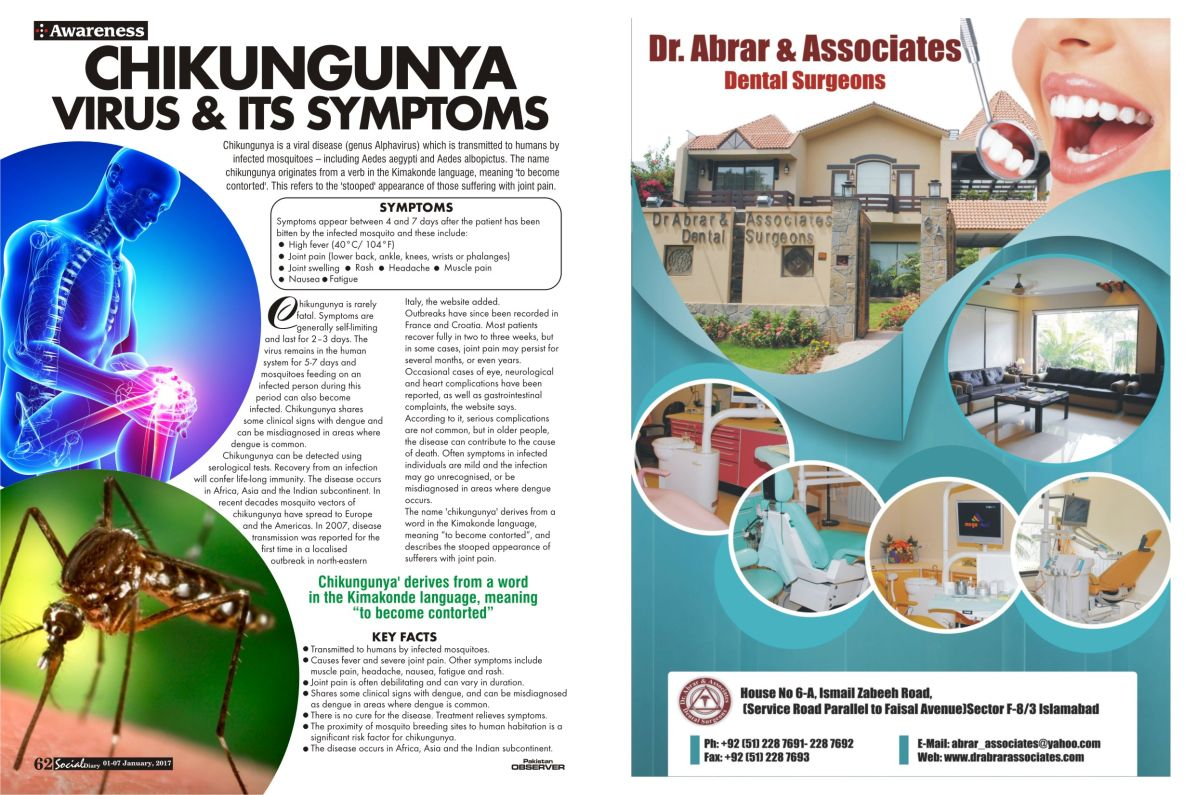 pics Chikungunya Treatment